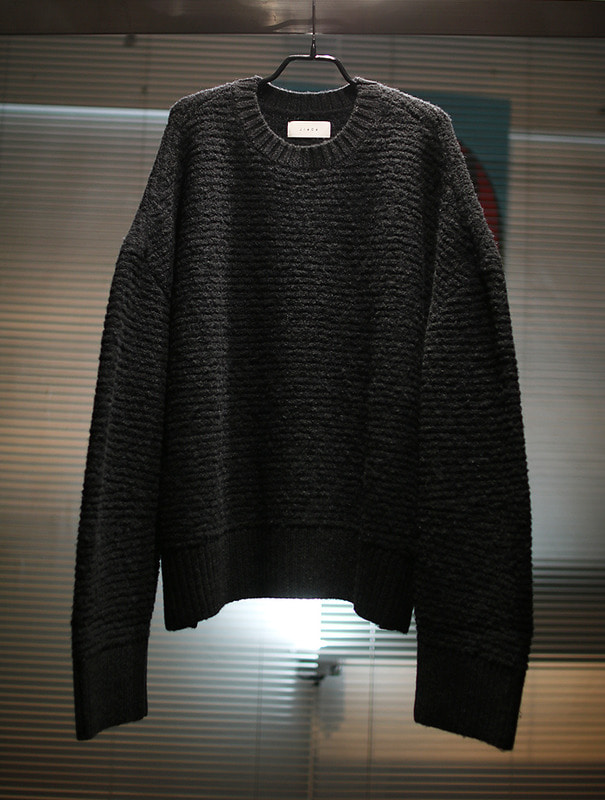 OVER Knit [BLACK]