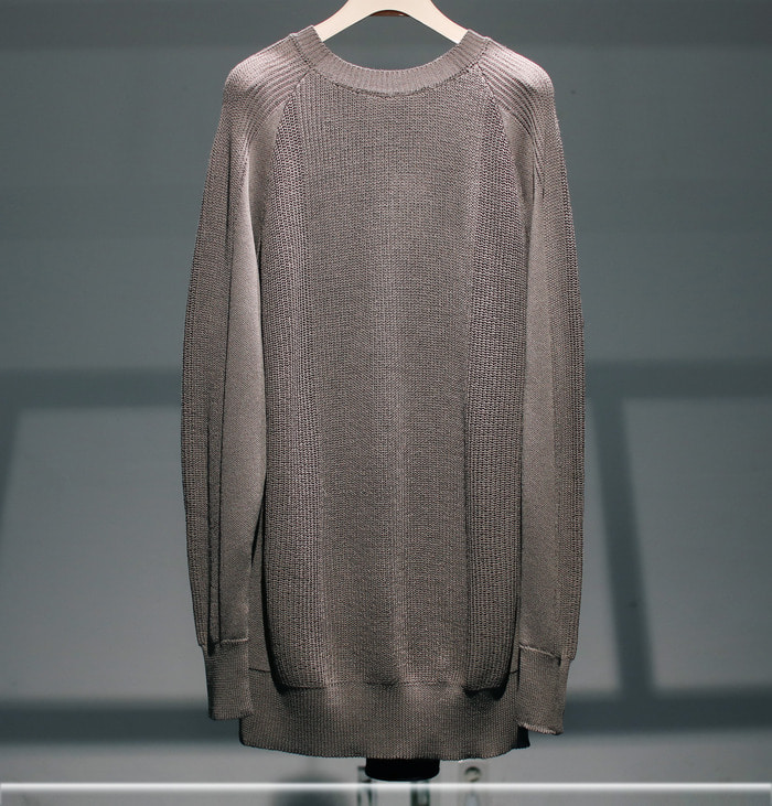 digawel / SWITCH SWEATER (GRAY)