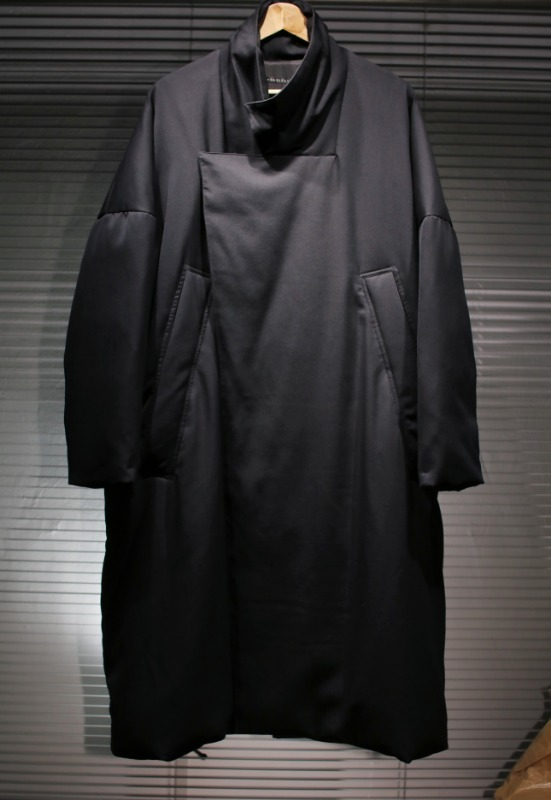 my beautiful landlet twill down coat (black)